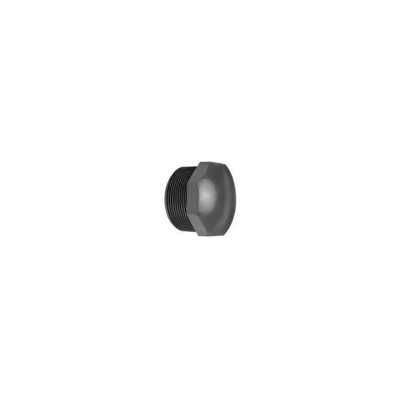 Male PVC end cap