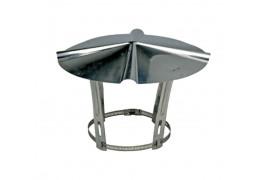 Chapeau de protection inox