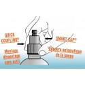 lampe fournis avec le stérilisateur UVc