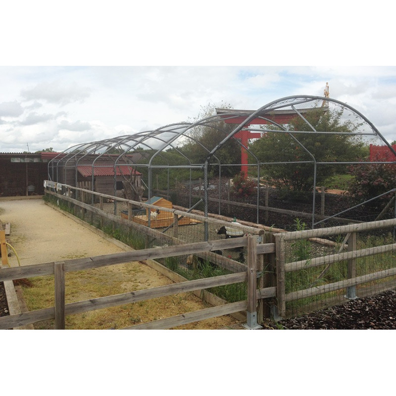 4 m wide aviary tunnel