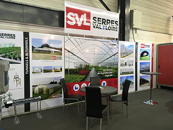 Retrouvez Serres Val de Loire au salon du SIVAL