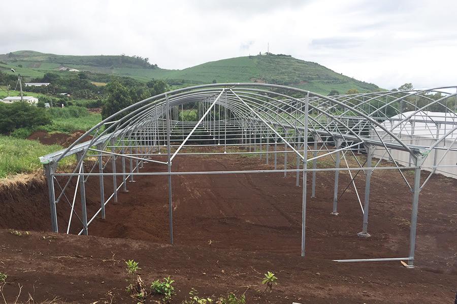 Mounting in progress (La Réunion)