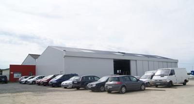 Notre usine de serres située à Vernantes