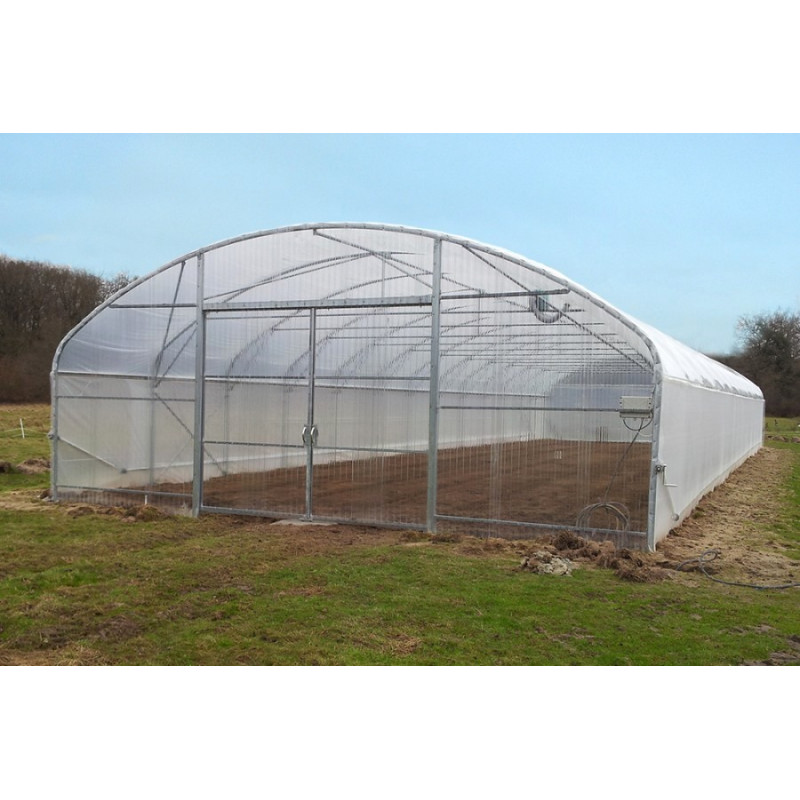 7.80 m wide straight-sided pro tunnel greenhouse