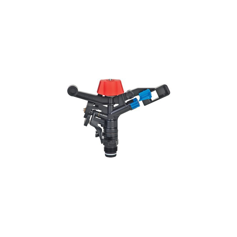 5035 PC sectoral plastic sprinkler with Ø3.5 nozzle and plug