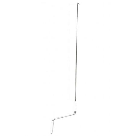 Manivelle à crochet lg 2.50 m