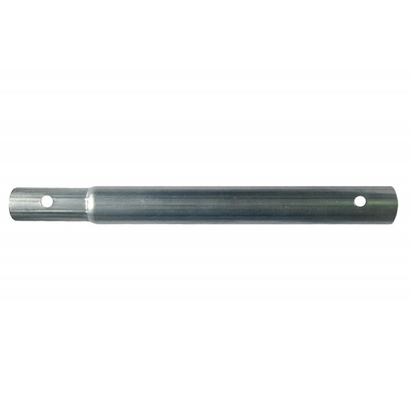 Swaged / plain tube with mounting holes