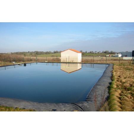Bâche bassin à la coupe EPDM Firestone 1.02 mm