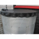 Galvanized steel tank