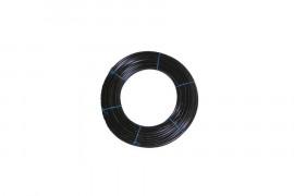 Ø 14 x 16.8 drain flush black soft pipe