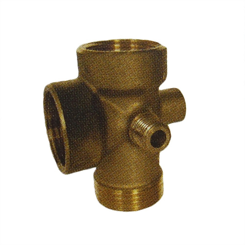 "1"" 5-channel brass fitting"