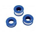 Ruban PTFE téflon bleu - 12 m - 12 x 0,075 mm