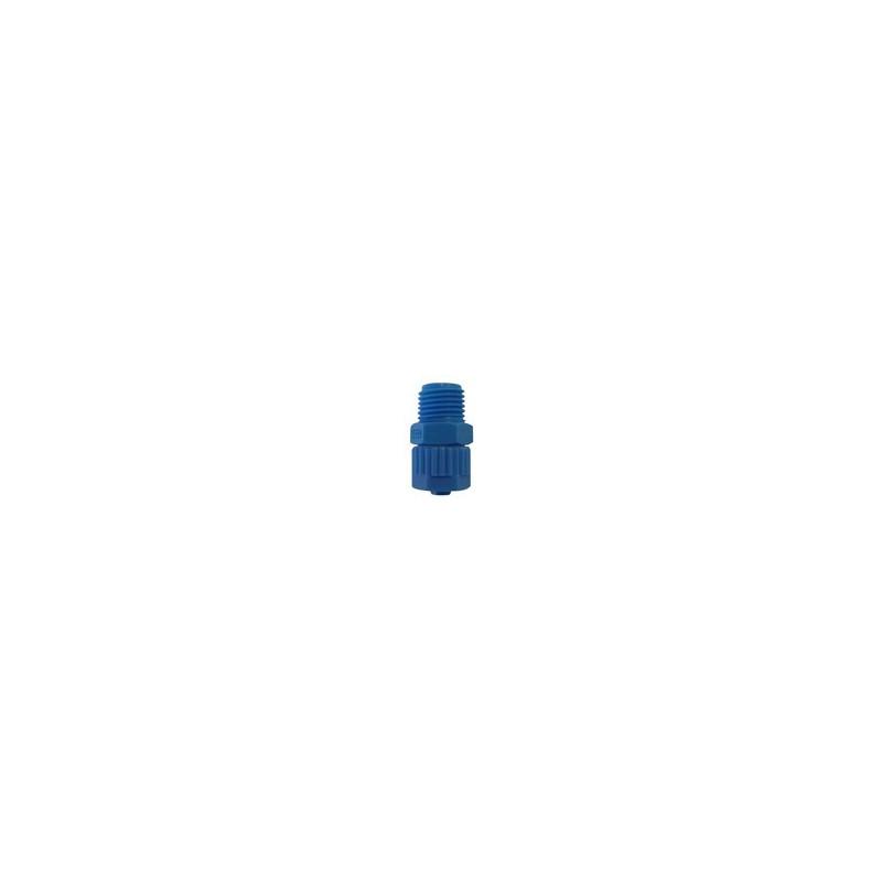 Raccord droit pour tube polyéthylène mâle