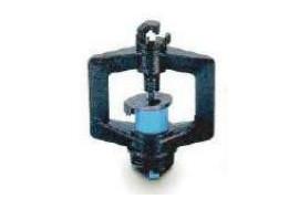10 x 12 fluted 3/8 threaded black/blue Rondo 2B adaptor / regulator