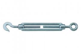 Eyelet-hook wire-strainer