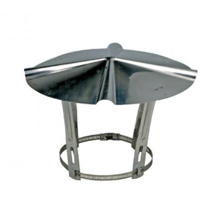 Chapeau de cheminée inox