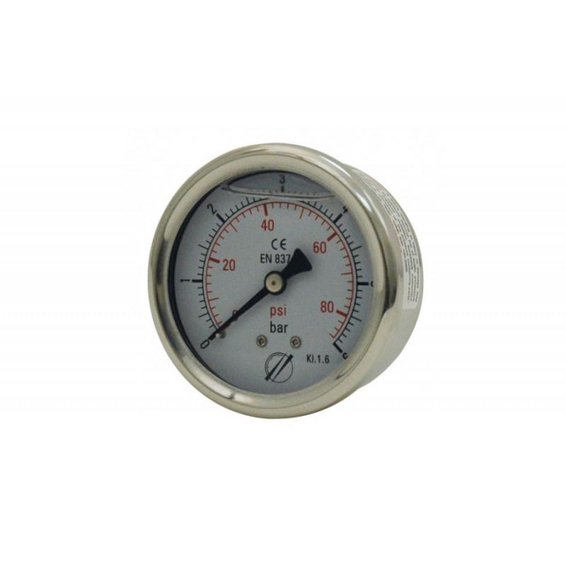 Ø 63 axial glycerine gauge