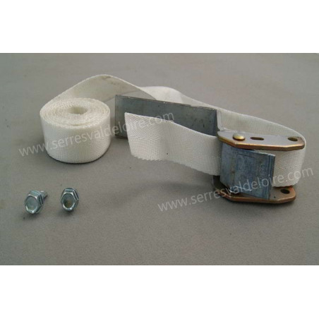 kit boucles de serrage + sangles