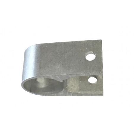 Collier aluminium de serrage pour tube Ø27mm