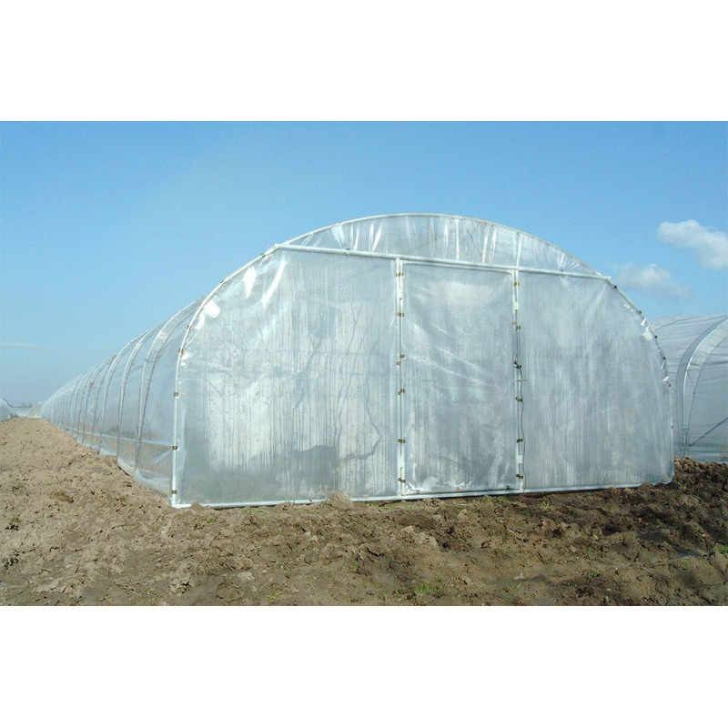 5 m wide straight-sided pro tunnel greenhouse