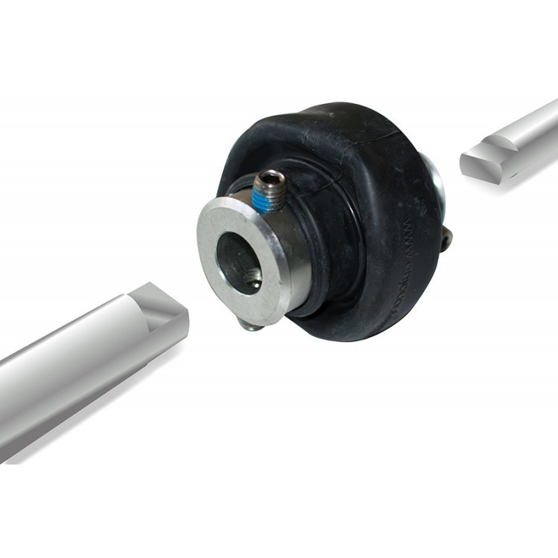 Universal joint for telescopic arms