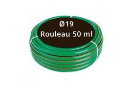 Tuyau arrosage Vert Ø19 - Rouleau 50 ml