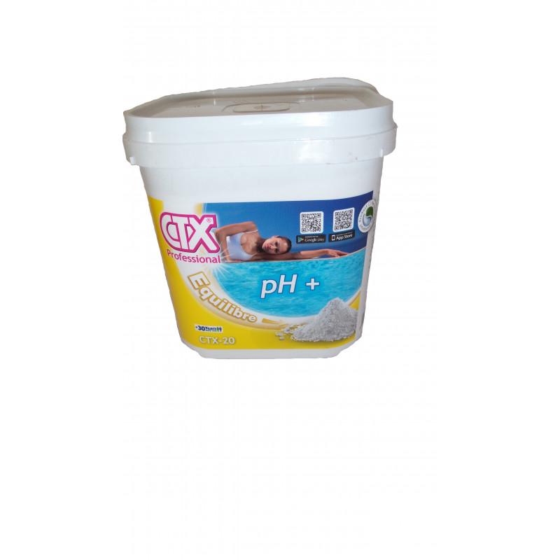 correcteur de pH Plus granulés - 5KG