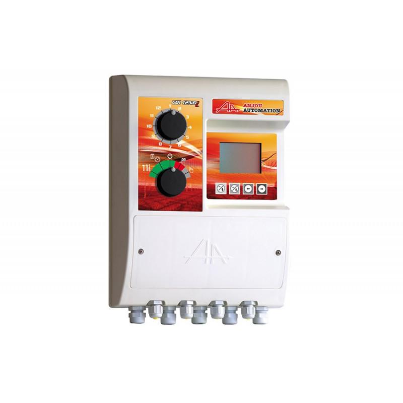 Programmateur d'arrosage gestion simplifié CDI12NGS - réglage des temps de vanne a la seconde - programmation jusqu'a 10 départ