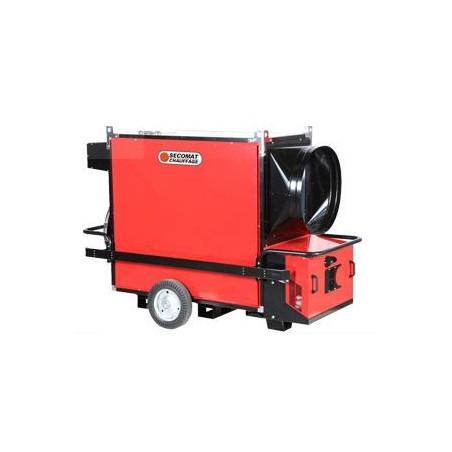 Chauffage fuel ou gaz mobile grande capacité