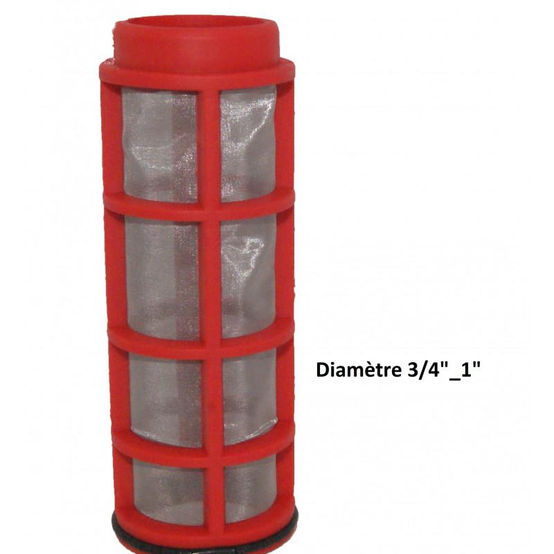 """Tamis pour filtre plastique Ø 3/4""""_1"""" - 130µ"""