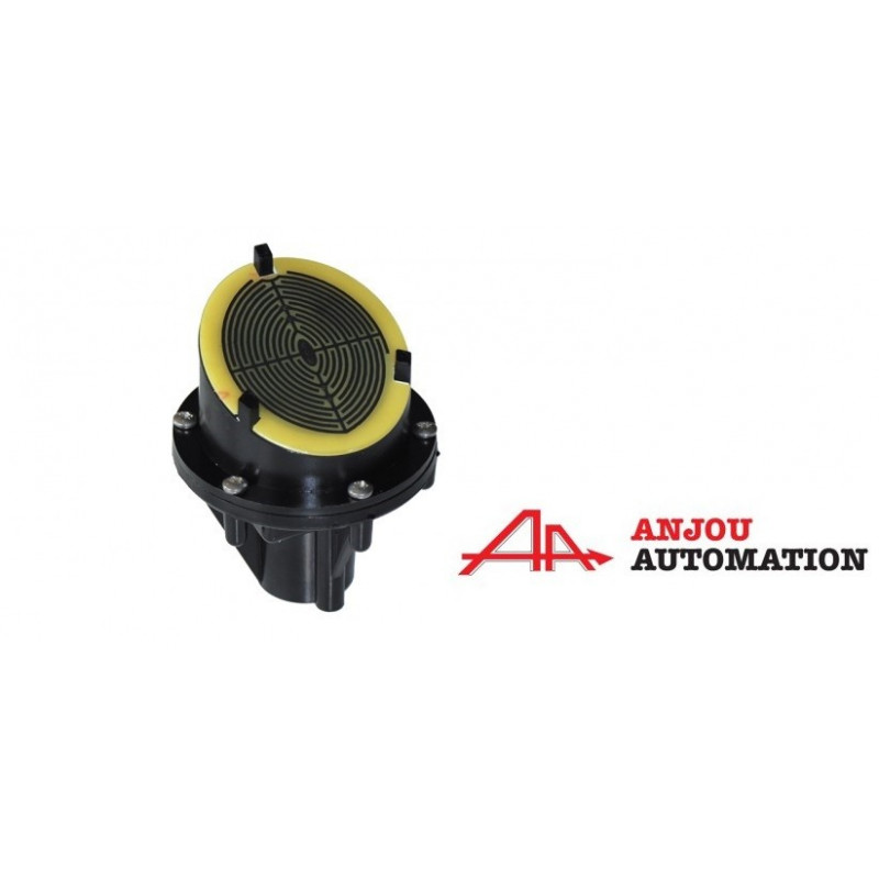 Angled rain detector