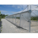 "9.60 m wide ""Optimum"" pro tunnel greenhouse"