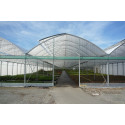 9.60 m wide gothic multispan greenhouse