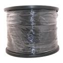 Fil Polyester Ø3 Noir - Bobine de 900 ml