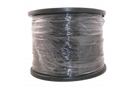 Fil Polyester Ø3 Noir - Bobine de 1000ml +-5%