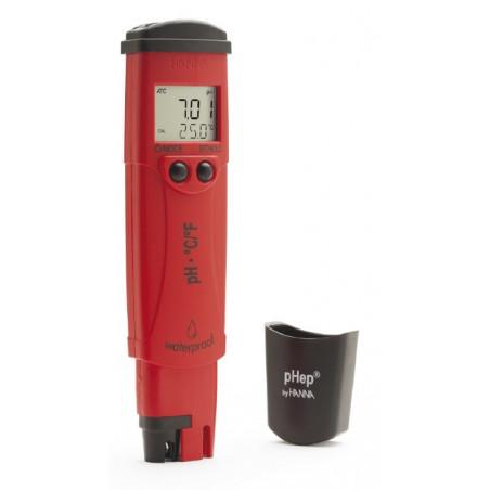 Testeur pH - mètre et température