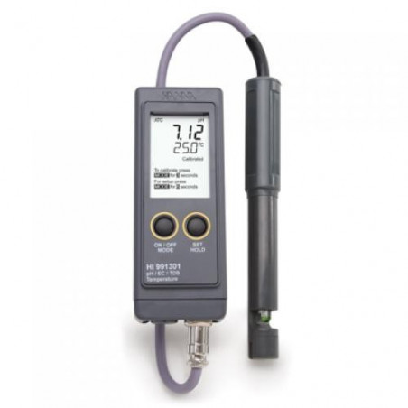 Testeur pH/EC/TDS/°C