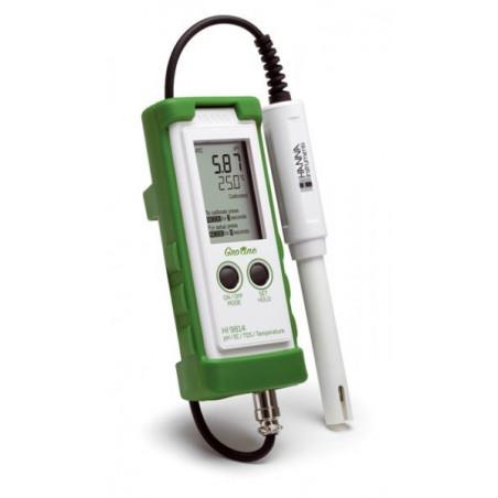 Testeur pH/EC/TDS/°C Gro Line