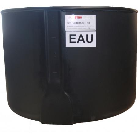 Cuve polyéthylène noire PE -  230 et 520 L
