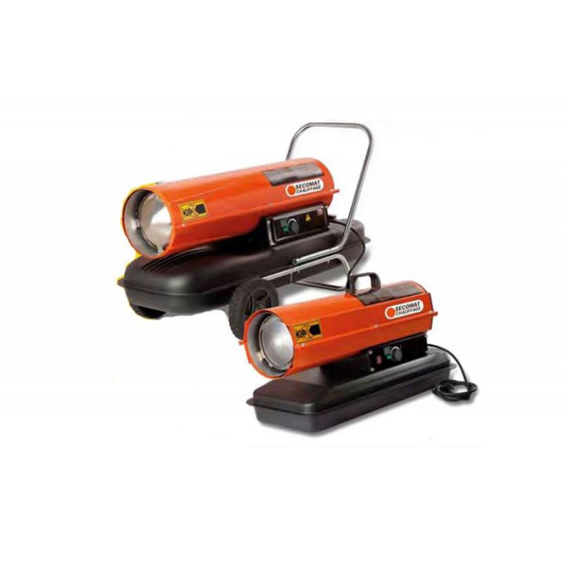 Chauffage mobile fuel avec pompe basse pression