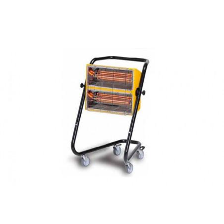 Radiant infrarouge halogène à quartz électrique mobile
