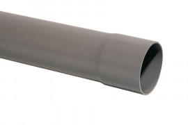Tube PVC descente gouttière Ø 80 - Barre de 4 m