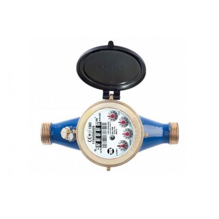 Compteur d'eau à turbine jet multiple - Eau froide