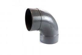 Coude 87°30 PVC