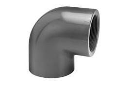 Coude PVC PR 90° à coller taraudé