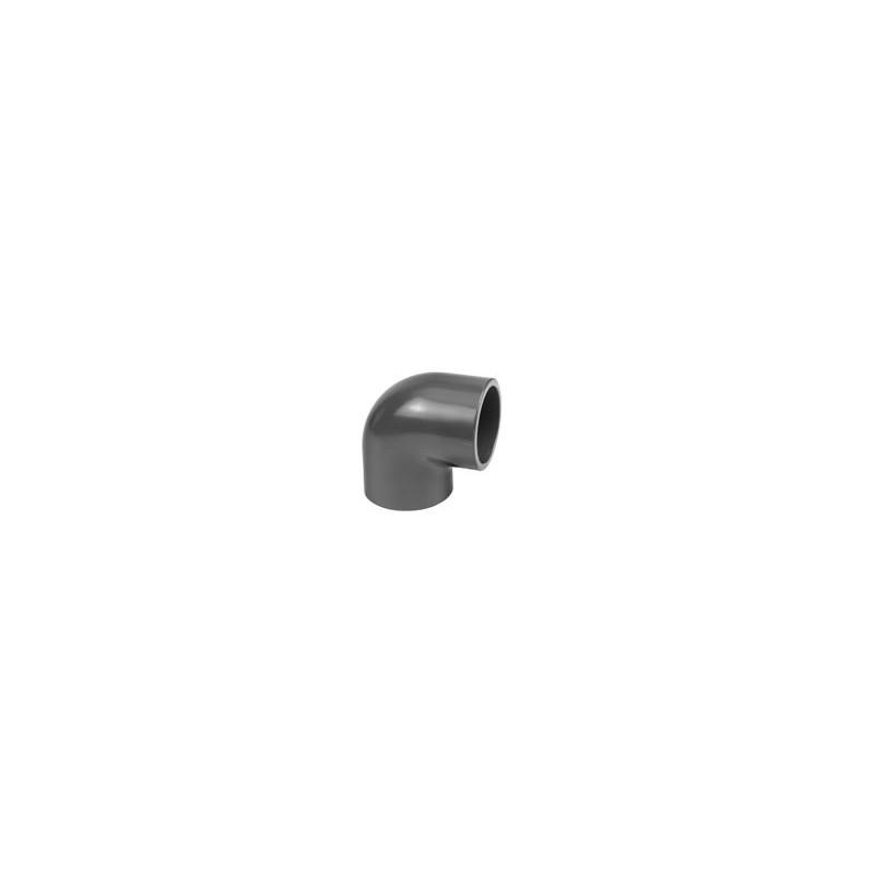 Coude PVC PR 90° à coller