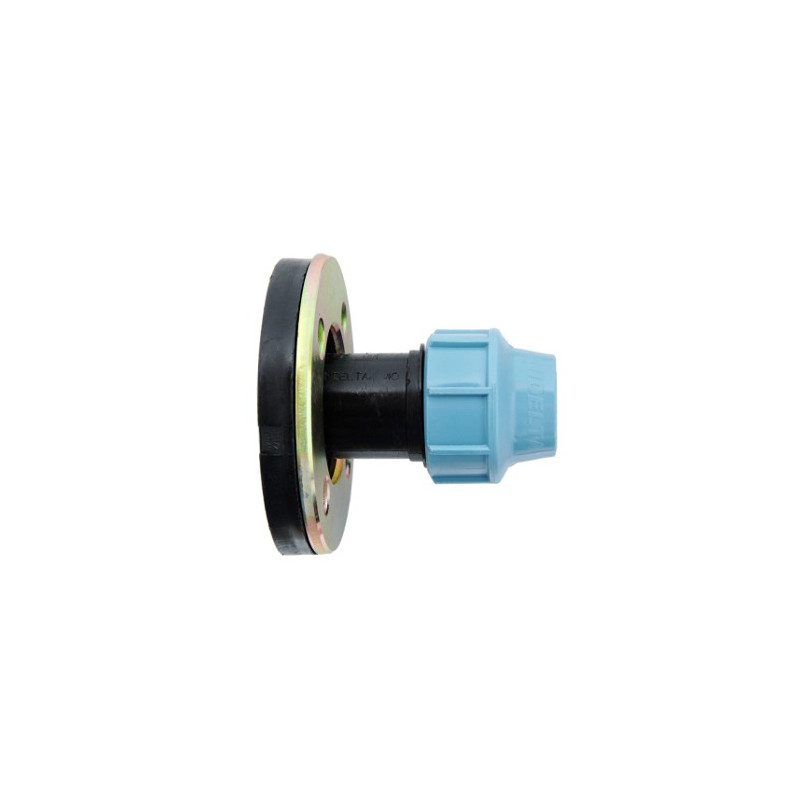 "3"" Ø 75 flange compression fitting"