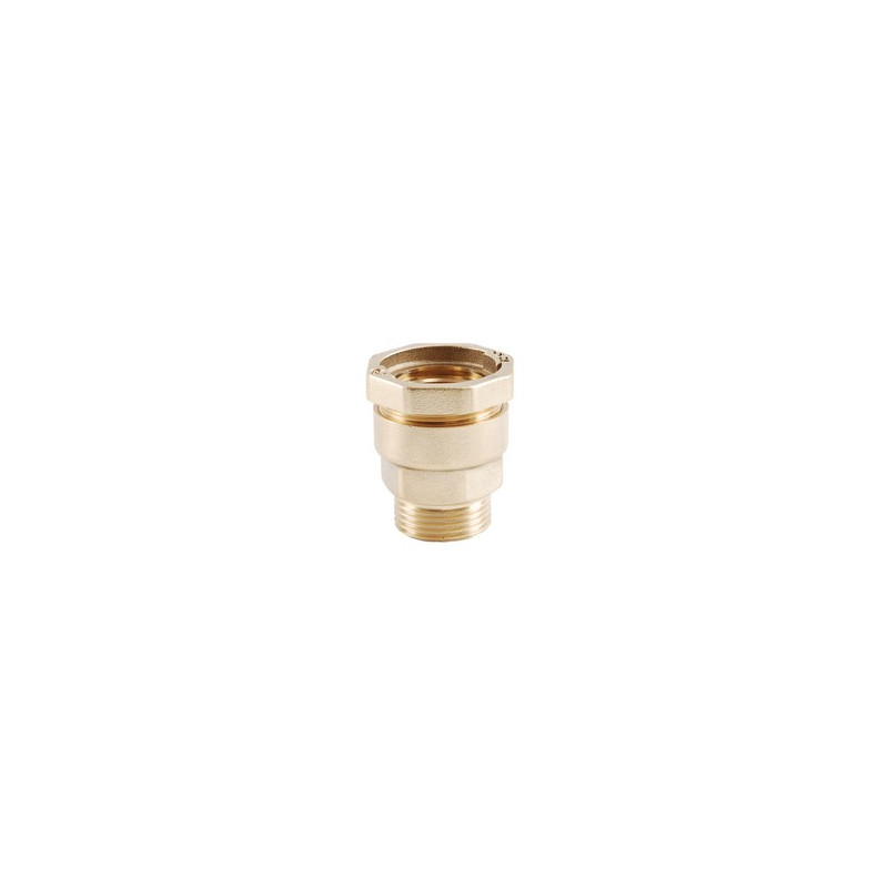 Threaded female brass fitting