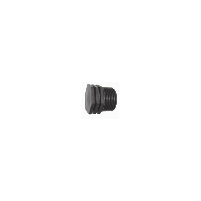 Male polypropylene end plug