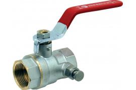 FF brass 1/4 turn vent valve
